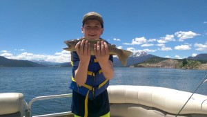 Colorado Charter Boat Fishing Children