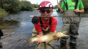Colorado Fly fishing for Kids