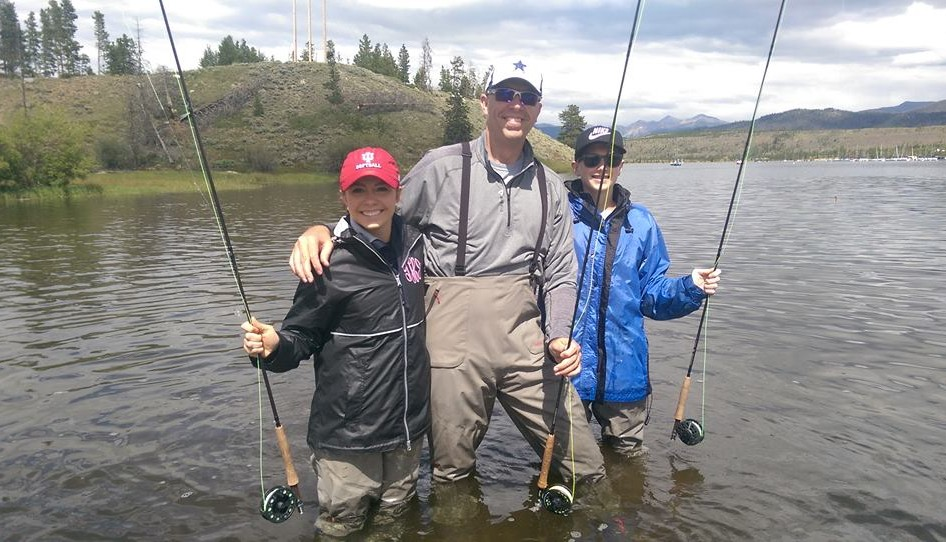 Colorado Fly fishing family